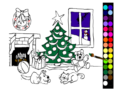 Paint the Christmas Tree