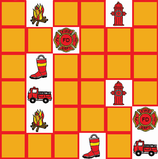 Firefighter memory Game #1